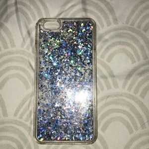 Accessories - Sparkle moving Case for IPhone 6s, slightly broken